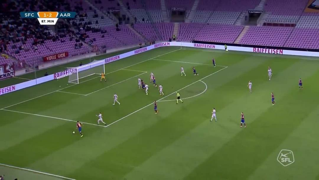 Highlights Servette-Aarau (28.04.2019)