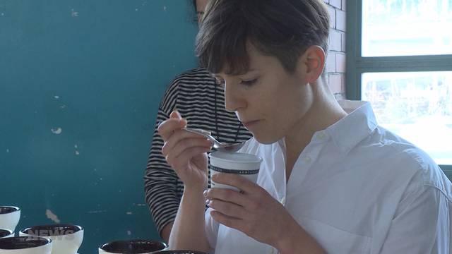 Die Meister des Kaffee-Schlürfens
