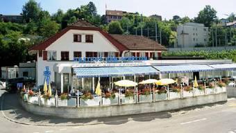 Im Gasthof Schützen in Aarau versammeln sich am Montag die Burkagegner zum Informationsanlass.