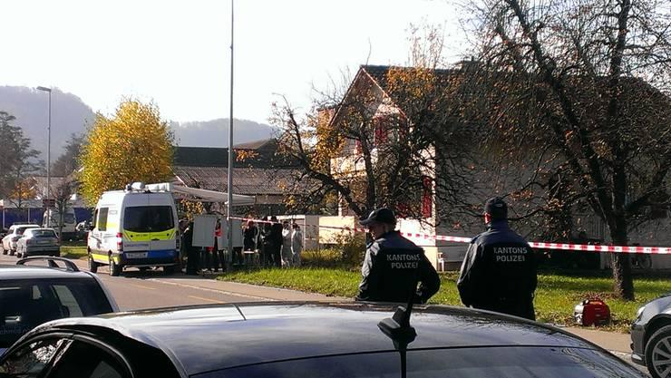 In diesem Haus an der Landstrasse in Gipf-Oberfrick kam es im November 2015 zum Tötungsdelikt.