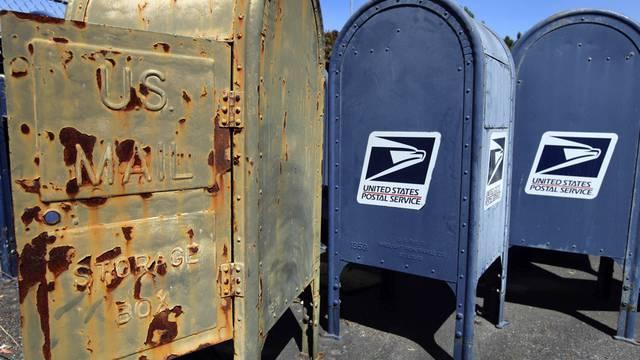 Die Infrastruktur der US-Post kostet zu viel (Symbolbild)