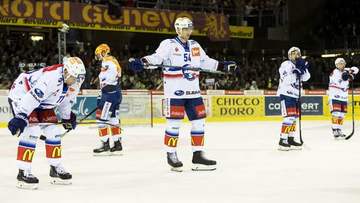 Die ZSC Lions verlieren in Genf 2:3 und verpassen die Playoffs.