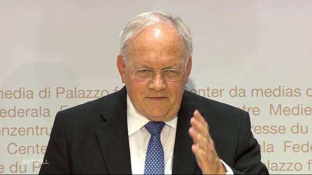 Johann Schneider-Ammann tritt per Ende Jahr zurück
