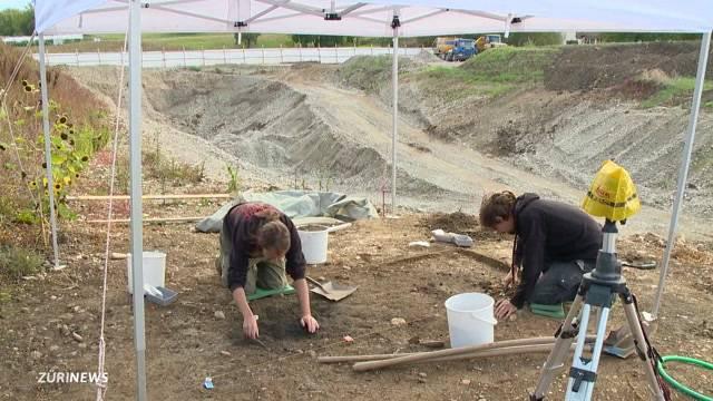 Mittelalterlicher Fund in Oberwinterthur