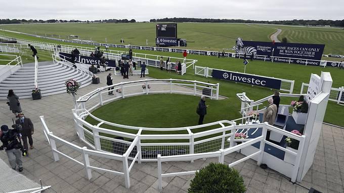 Das Epsom Derby fand unter Ausschluss der Öffentlichkeit statt