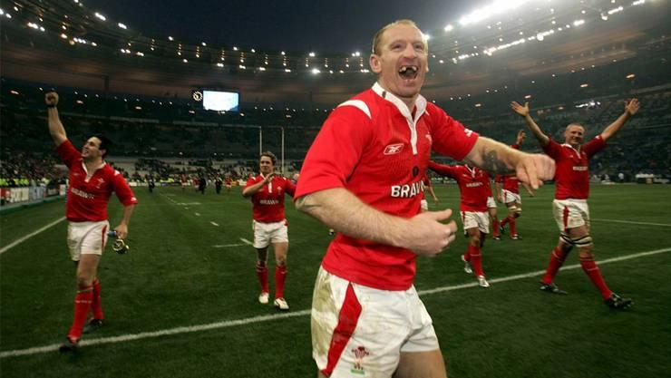 Rugby-Spieler und Wales-Captain Thomas Gareth outete sich 2012. Foto: Keystone