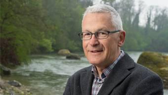 Natur und Wasser an der Reuss: Hans Oldani holt sich gerne Inspiration im Grünen. Alex Spichale