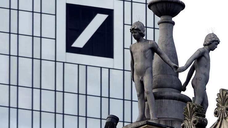 Die Deutsche Bank ist in die schwarzen Zahlen zurückgekehrt (Archivbild).