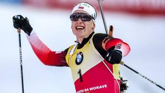 """Legt eine """"Babypause"""" ein: Wegen der bevorstehenden Geburt seines ersten Kindes verzichtet der Biathlon-Dominator Johannes Thingnes Bö auf die Januar-Rennen in Oberhof und Ruhpolding"""