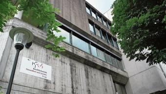 Der BFGS-Hauptstandort befindet sich an der Baslerstrasse in Brugg.