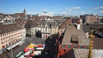 Basler Marktplatz (Archiv)