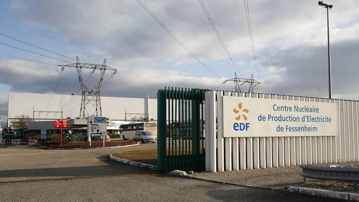 Das elsässische Atomkraftwerk Fessenheim liegt 40 Kilometer nördlich von Basel.