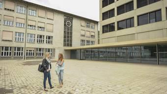 Das neue Basler Sekundarschulhaus Sandgruben