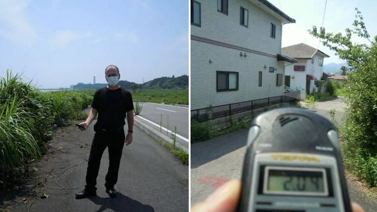 SP-Nationalrat Max Chopard reiste nach Fukushima