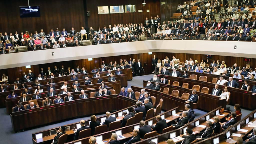 Israels Parlament löst sich automatisch auf - Neuwahl im März