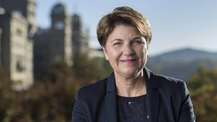 Viola Amherd (*1962) ist seit 1991 Anwältin und Notarin in Brig-Glis.