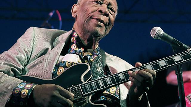 """King of the Blues""  B.B. King im Jahr 2012"