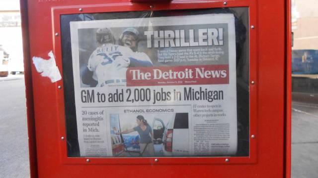 2000 neue Stellen: Die Autohersteller Detroits liefern wieder positive Schlagzeilen. / Benjamin Weinmann