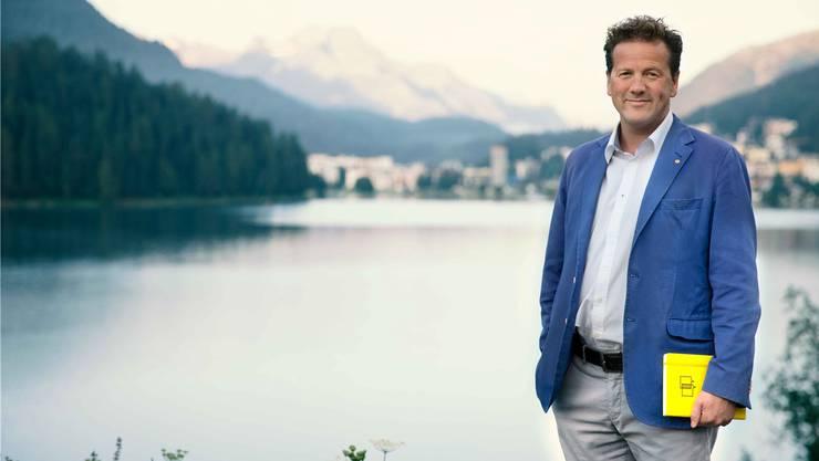 Frischer Wind für St.Moritz: Christian Jott Jenny.