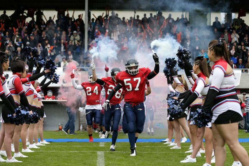 Die Calanda Broncos wollen den Swiss Bowl diesen Samstag gewinnen. (Bild: KEYSTONE/Arno Balzarini)