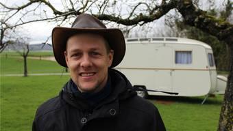 Patrick Gasser, «Platzwart» des Eichhof-Campings, weiss, was die Camper schätzen: Die Ruhe und Nähe zur Natur. kpf