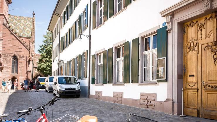 Perfekte Lage: Hier soll im Herbst 2018 das Bistro im Sitz des Bau- und Verkehrsdepartements eröffnen.