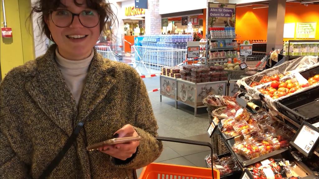 Lou nimmt uns mit auf ihre erste Einkaufstour