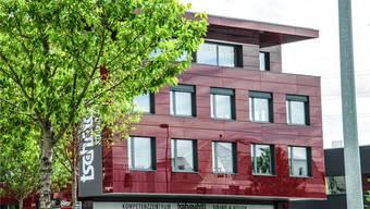 In diese neue Gewerbeliegenschaft an der Breitistrasse in Wohlen-Anglikon wird der KESD im November 2016 einziehen. Toni Widmer
