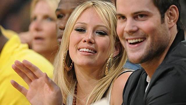 Hilary Duff und ihr Gatte Mike Comrie an einer Sportveranstaltung (Archiv)