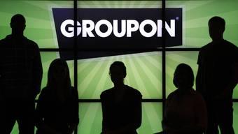 Das Logo der Internetplattform Groupon (Archiv)