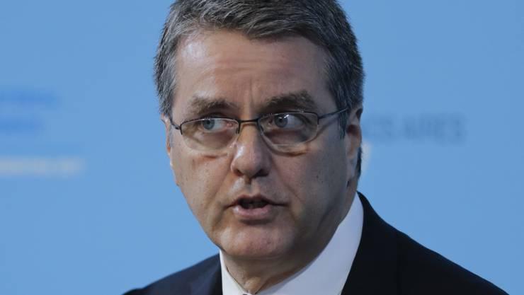 An der von Männern dominierten WTO-Konferenz in Buenos Aires wurde eine Deklaration verabschiedet, die die Teilnahme der Frauen am Handel erleichtern soll. Im Bild WTO-Generaldirektor Roberto Azevedo.