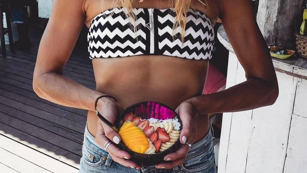 Die Schlank-Snacks der Fitness-Models