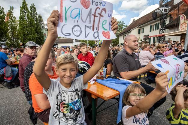 Fans von Trauffer und Göla