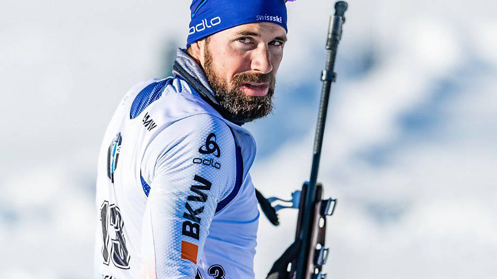 Benjamin Weger richtet den Blick in Richtung Weltcup-Podest.