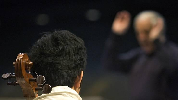 Der Stimmführer des Luzerner Sinfonieorchesters erhält ein wertvolles Cello in die Hände. (Symbolbild)