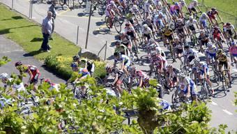 GP Gippingen mit Fabian Cancellara und Bundesrätin Doris Leuthard