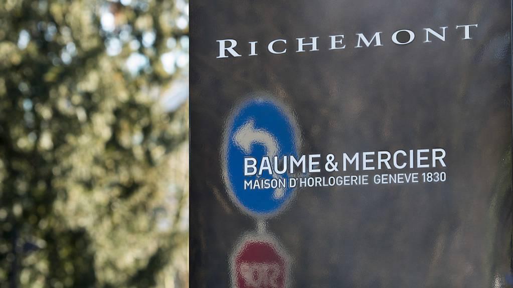 Der Luxusgüterkonzern Richemont und seine Personalchefin Sophie Guieysse gehen ab sofort getrennte Wege. Der Schritt hatte sich abgezeichnet. Laut Medienberichten stand sie in der Kritik wegen Erhöhungen der Saläre für die Konzernleitung. (Archivbild)
