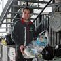 Andreas Mittner, Inhaber von «Muldenservice Recycling beim Kreisel», erlebte einen Run auf seine Entsorgungsstelle.