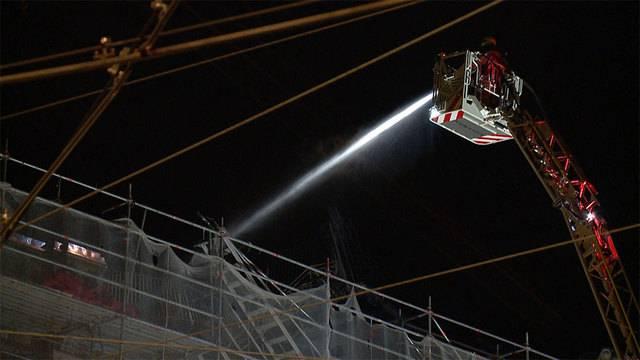 Brandruine am HB: Mottbrand löst Feuerwehreinsatz aus