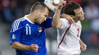 Testspiel Schweiz-Liechtenstein