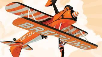 Breitling Wingwalker wird das Publikum an den Flugtagen Wittinsburg in den Bann ziehen.zvg
