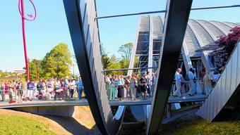 Boom: Solchen Besucherandrang erlebte das ZPK an der Eröffnung 2005. (bar)