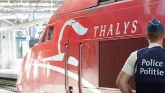 Ein Thalys-Zug in Brüssel.