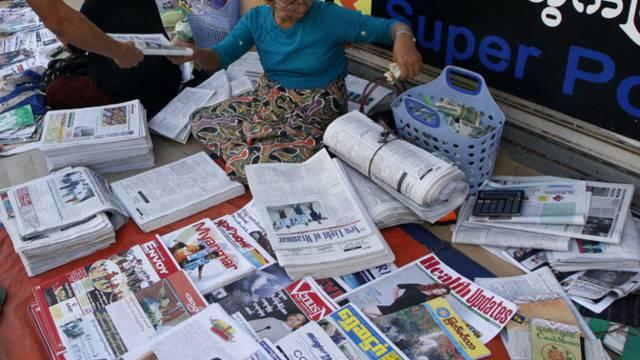Burma lässt nichtstaatliche Tageszeitungen zu (Symbolbild)
