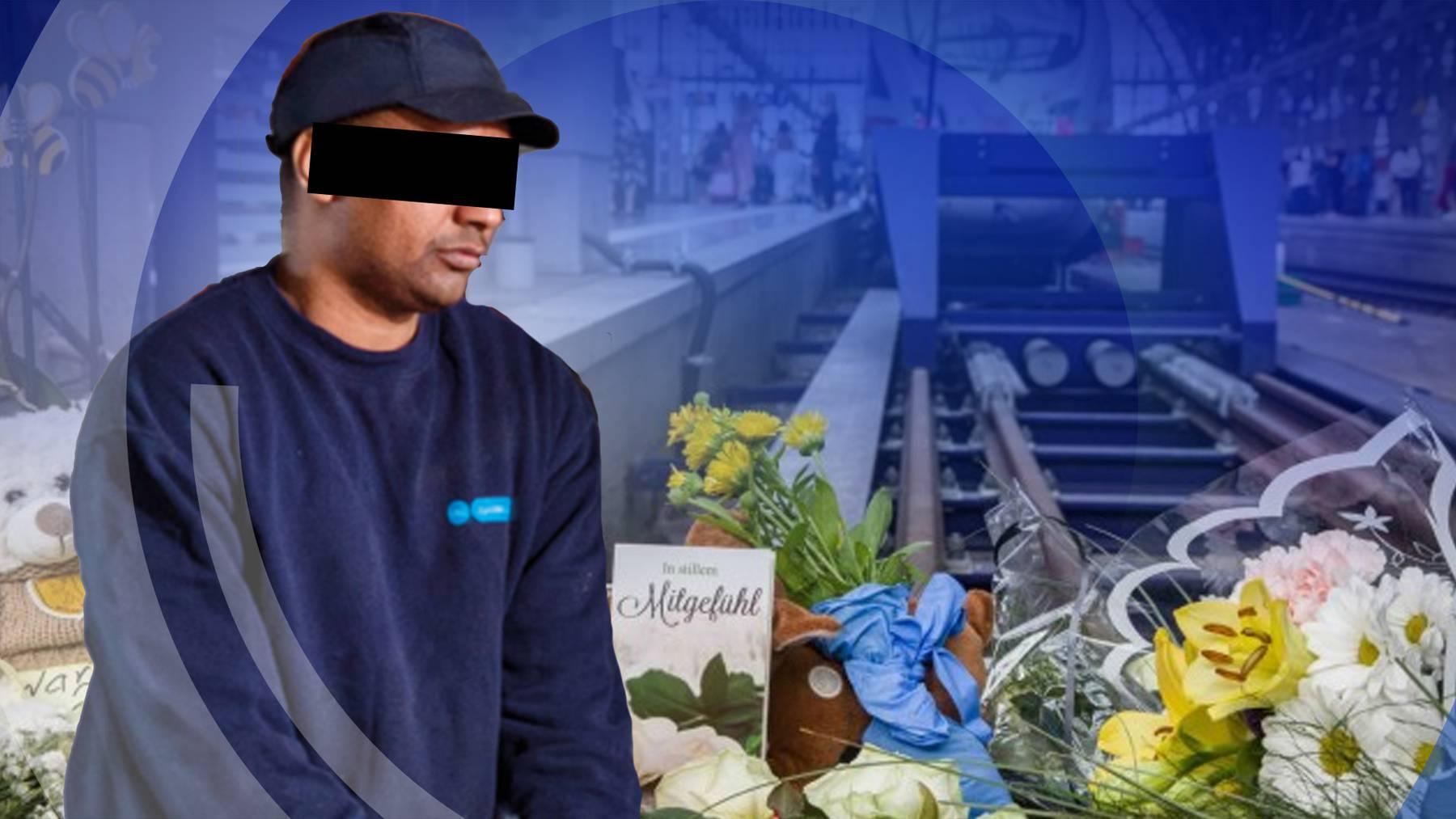 Gleis-Schubser: Täter von Frankfurt war in der Schweiz zur Haft ausgeschrieben