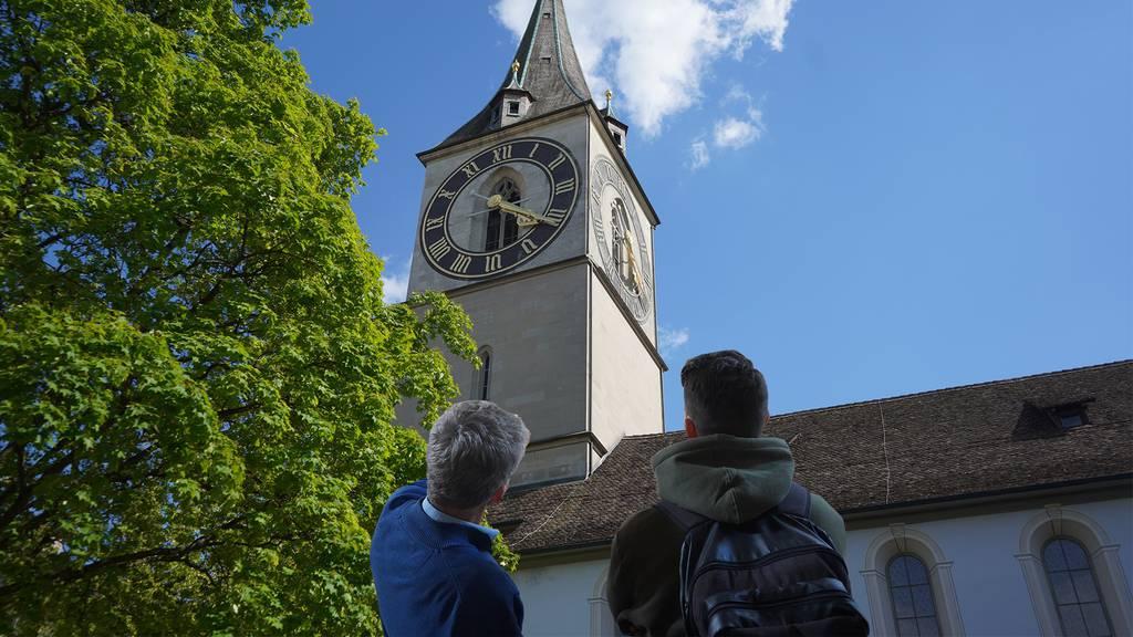 Zürich hat das grösste Kirchen-Ziffernblatt Europas