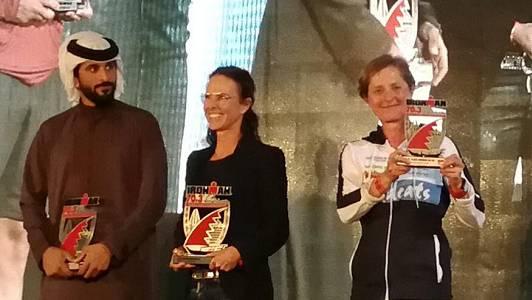 Nicole Rickenbacher(r.) gewinnt die Silbermedaille.