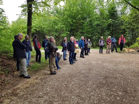 Der neunte Waldwanderweg auf dem Born wurde eingeweiht.