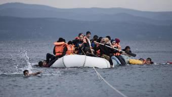 Flüchtlings-Chaos auf Lesbos