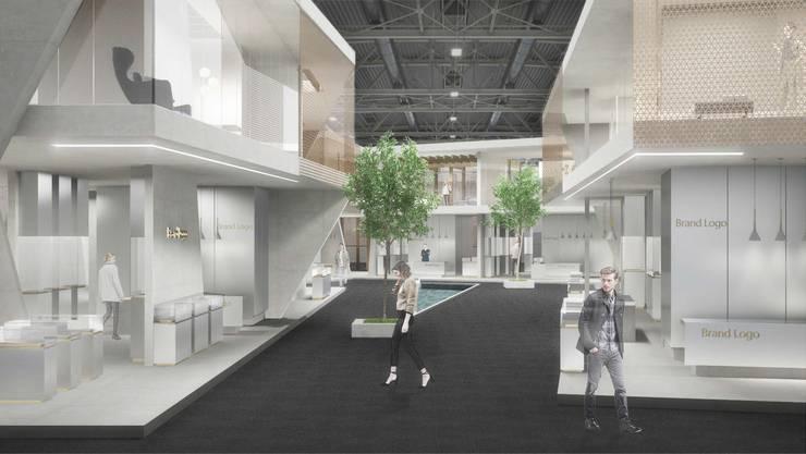 Ein Grund für die positiven Reaktionen der Branche: Das neue Konzept mit dem «Community District» im Zentrum der Halle 1.0.